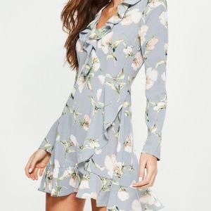 NWT Missguided floral mini dress